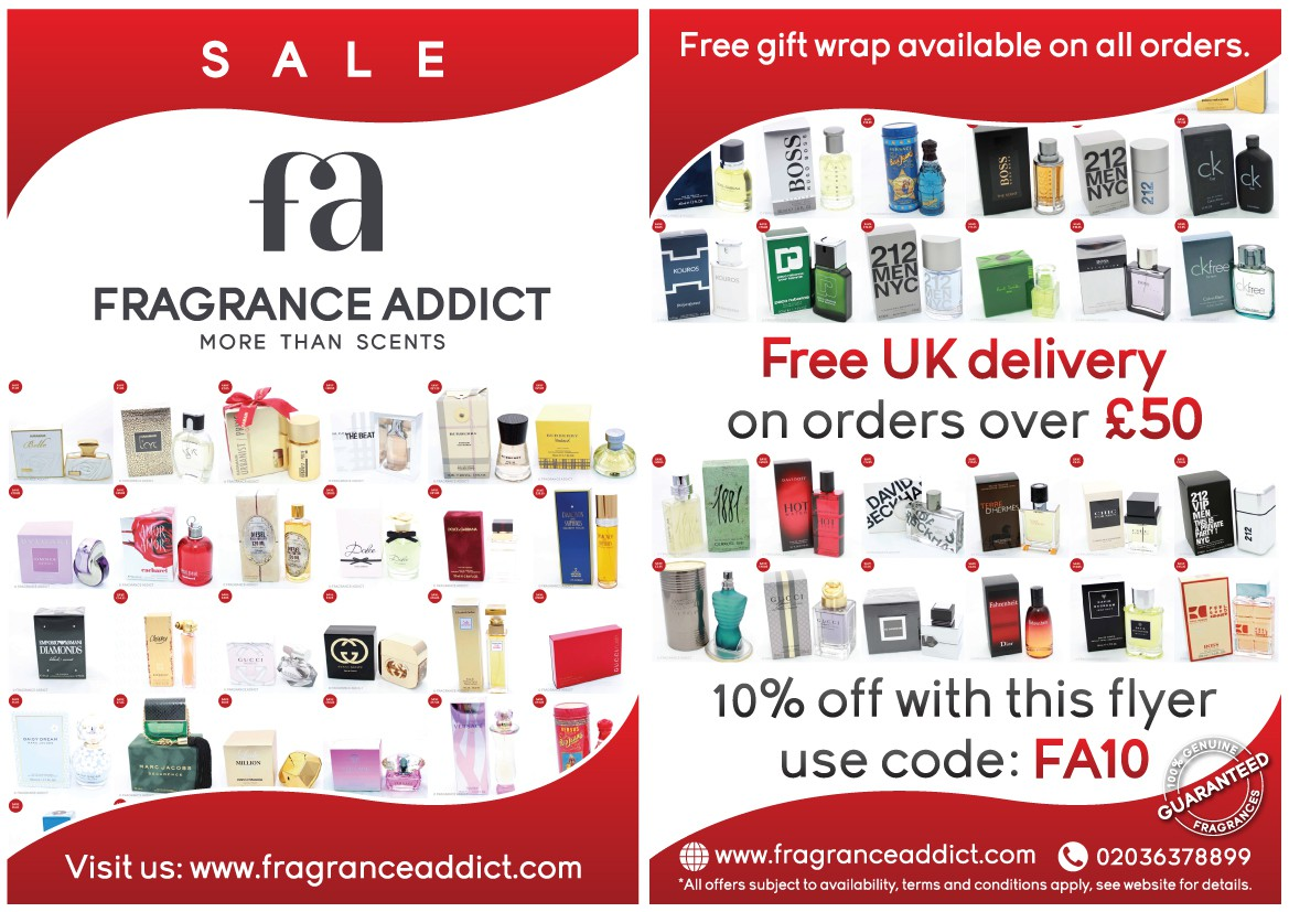 Fragrance Addict Flyer