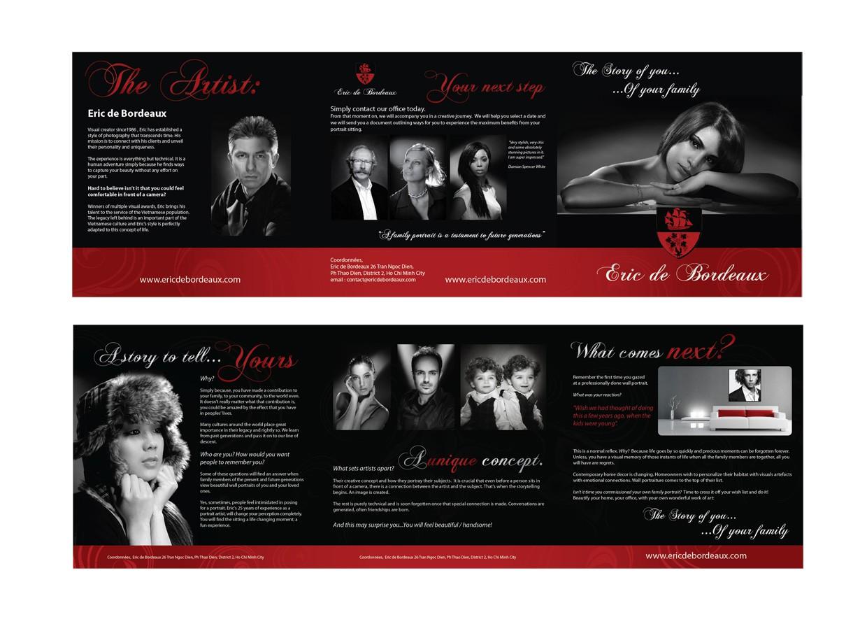 print or packaging design for Eric de Bordeaux