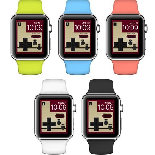 Wallpaper design for Apple Watch
