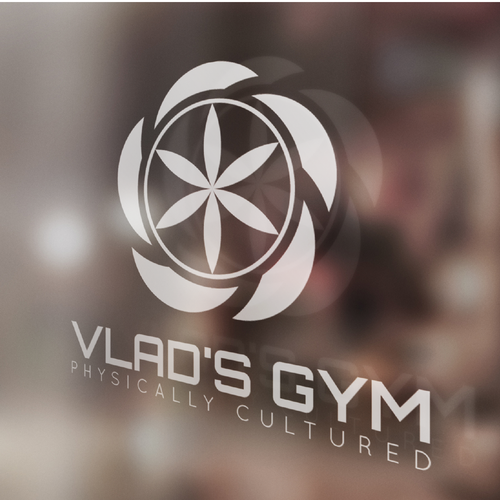 Modern and bold logo concept for a great gym