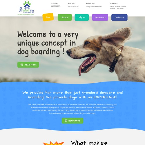 Pet website.