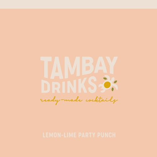 Brand Identity Concept for Tambay Drinks