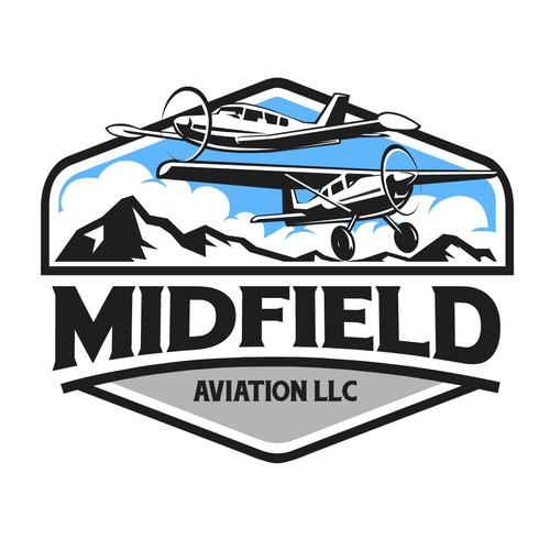 Bold concept of Midfield Aviation LLC