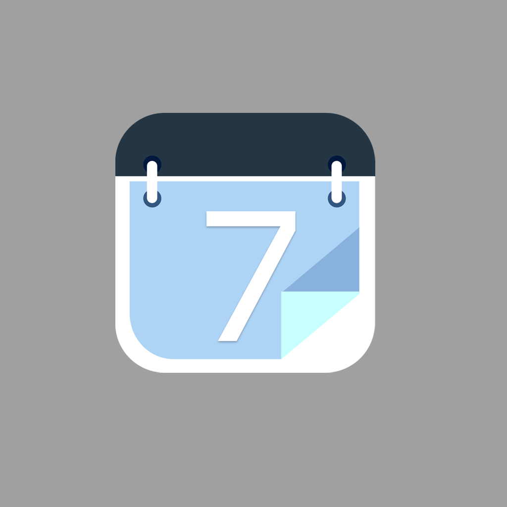 Create an irresistible icon for a calendar app for iOS