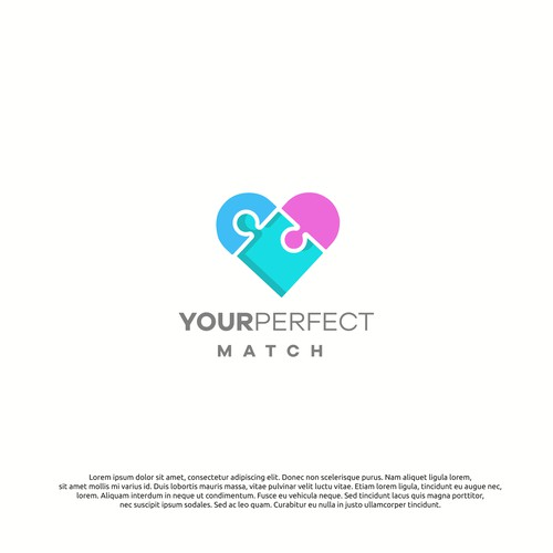 logo concept for perfectmatch