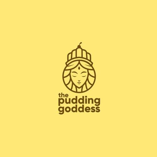Logo entry for banana pudding company named The Pudding Goddess