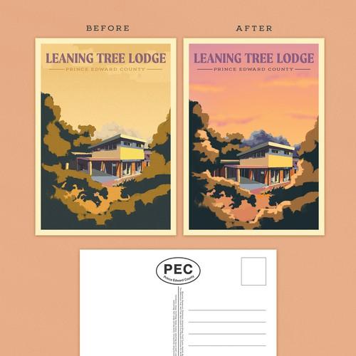 Nostalgic Illustrated Design for BnB