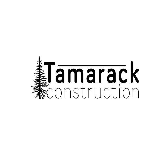 Construction Logo Tamarack