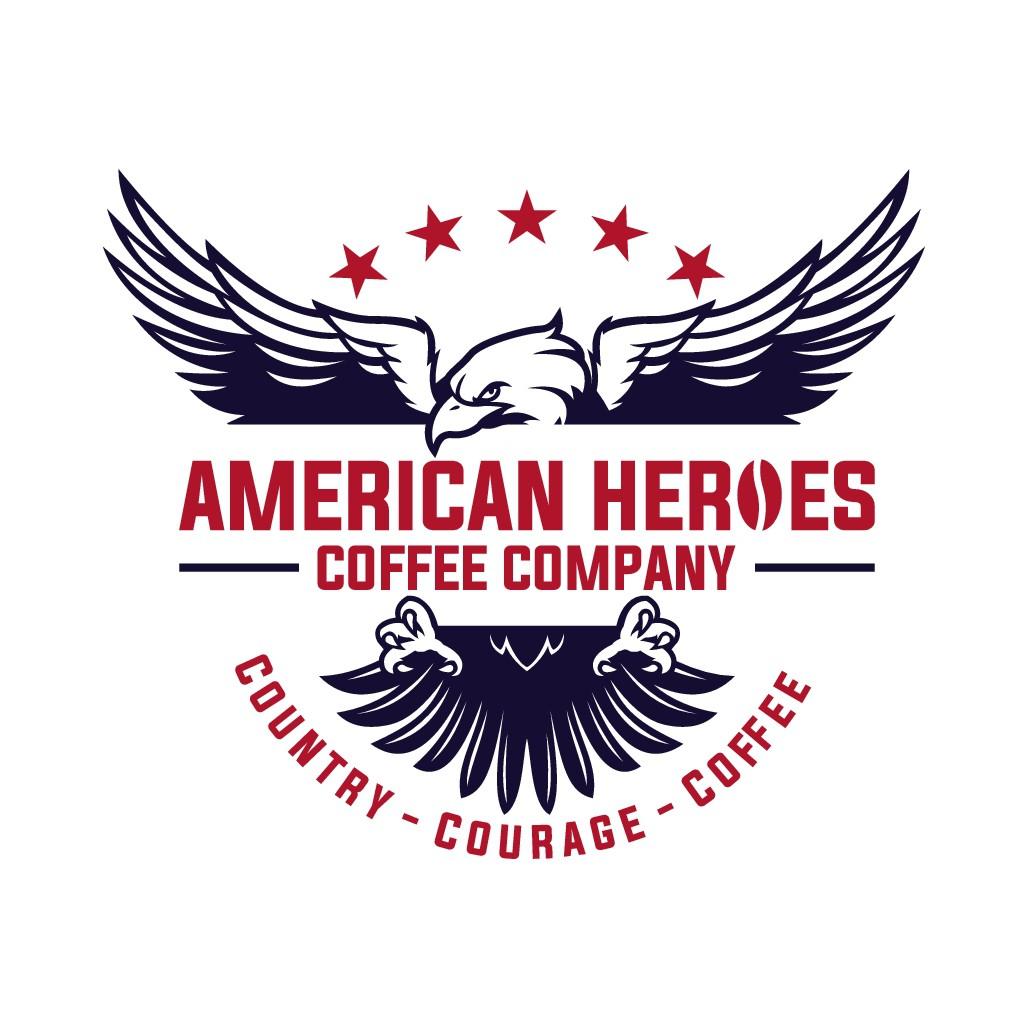 American Heroes Coffee Need a Powerful New Logo!