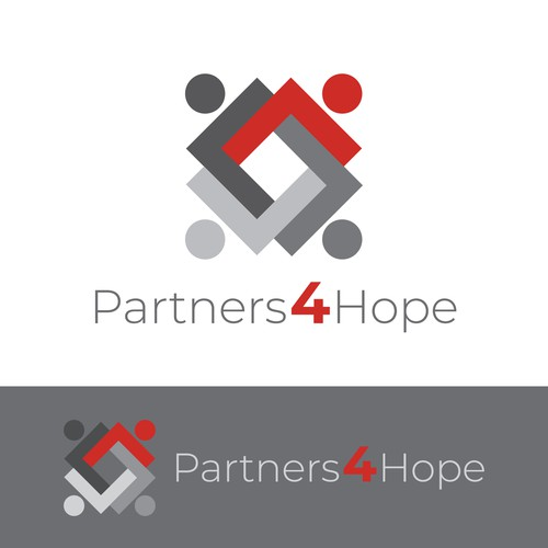Non-Profit Logo Design - Partners 4 Hope