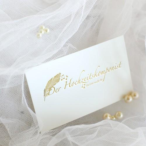 Logogestaltung für einen Hochzeitskomponisten