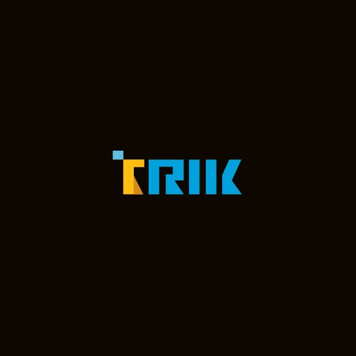 simple but elegant logo for TRIK