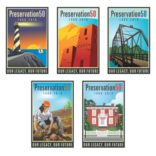 Create the Logo for the United States' Celebration of Historic Preservation