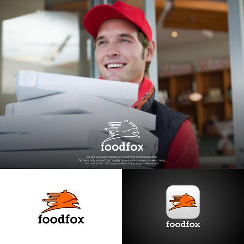 fox logo for food fox
