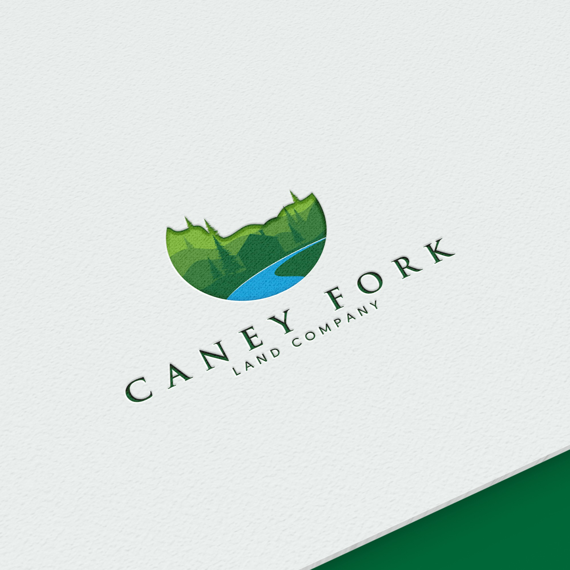 Logo for Land Development Company That Will Attract People Who Love Nature