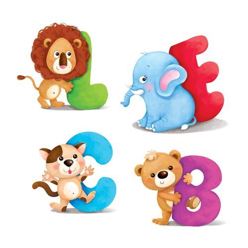 animals with alphapets