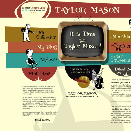 Taylor Mason official website