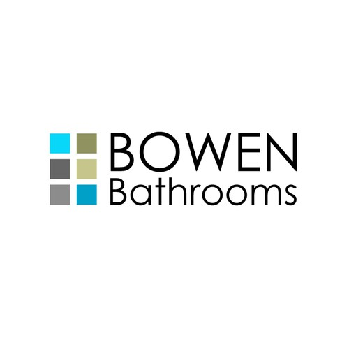 Minimalist design for bathroom retailer
