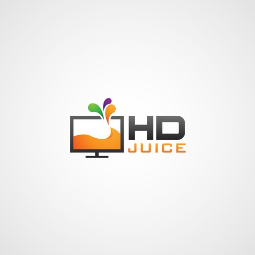 HDJuice.com - New website needs a fun, colorful and catchy logo