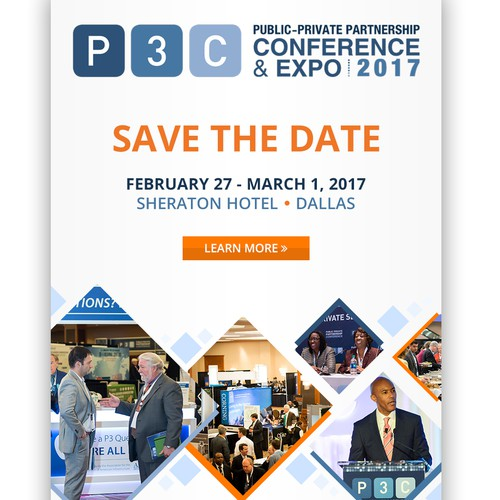 P3C Conference Email design