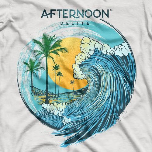 Custom T-shirt Design for Cannabis Brand