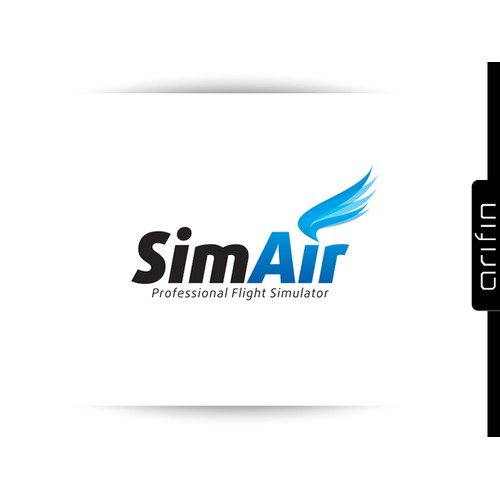 Logo for flightsimulator service