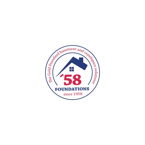 A logo for a construction company