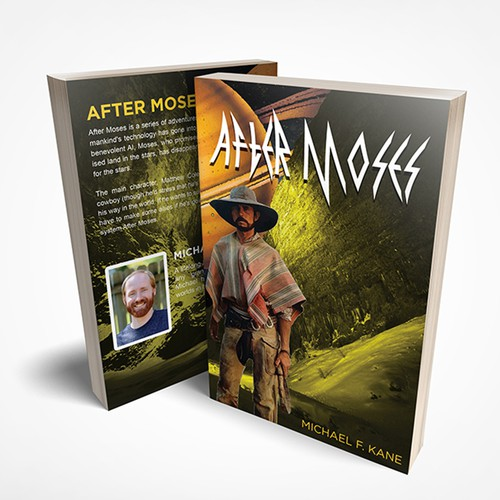 After Moses cover book design