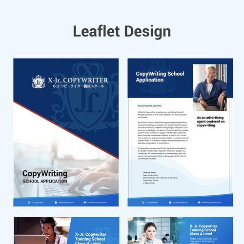 Copywriting leaflet