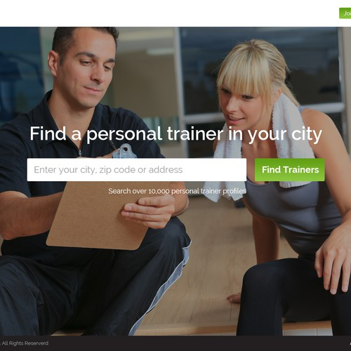 High-Impact, Modern Website for Fitness Website