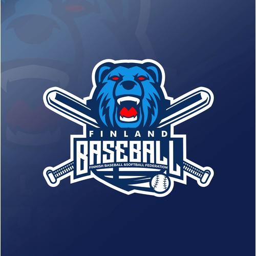 Logo for finland baseball
