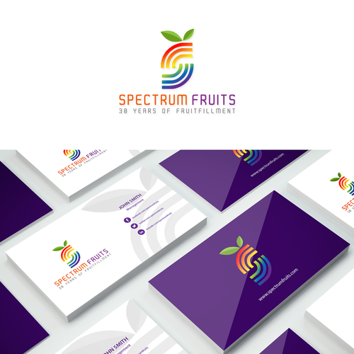 Logo for fruit vendor