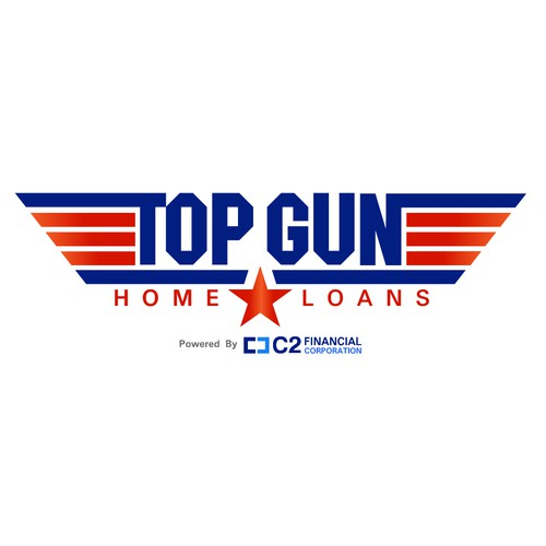 TOP GUN Home Loans Logo