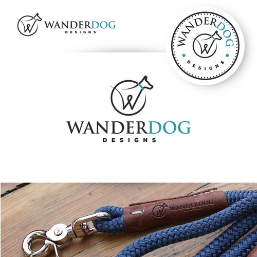 Logo design for a hand make dog leashes