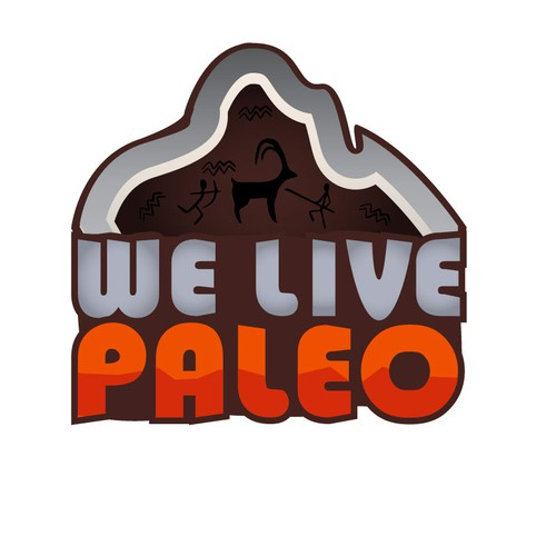 Logo for a site that promotes the Paleo diet