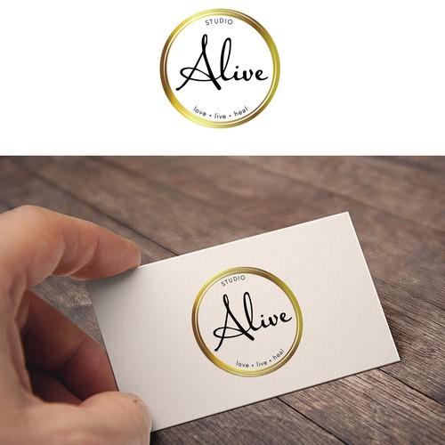 Studio Alive! Logo design