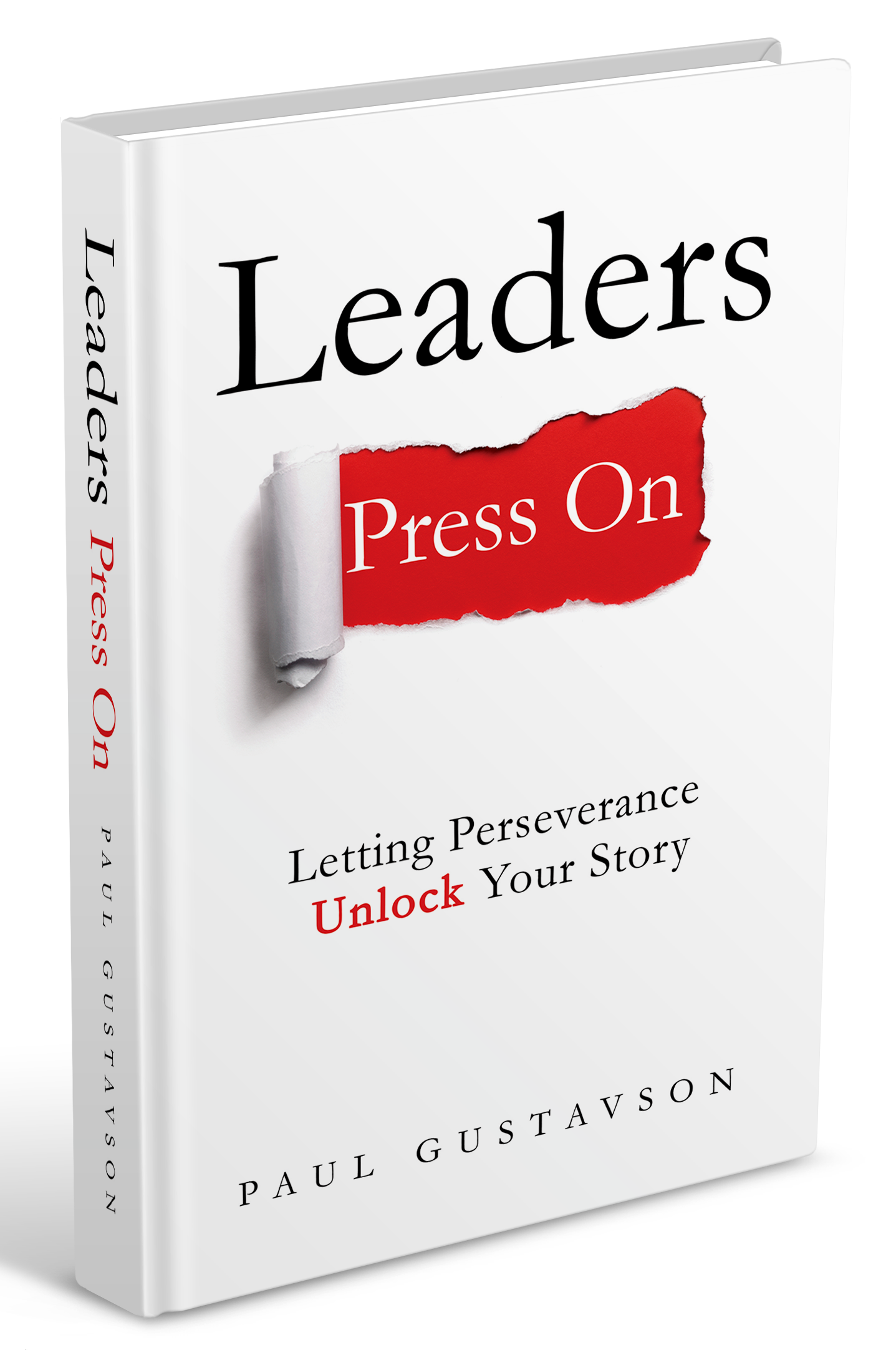 """Create book cover for  """"LEADERS PRESS ON"""""""