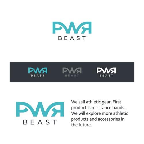 PWR Beast Logo Design