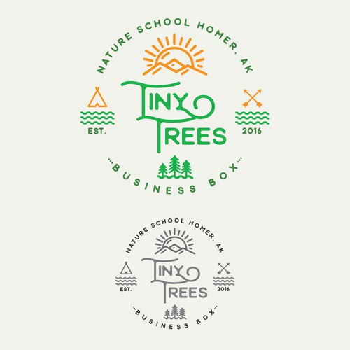 Logo concept for kids school