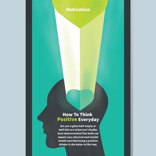 Illustration for a Mental Health app