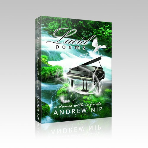 Book Cover Design for Lucid Poems