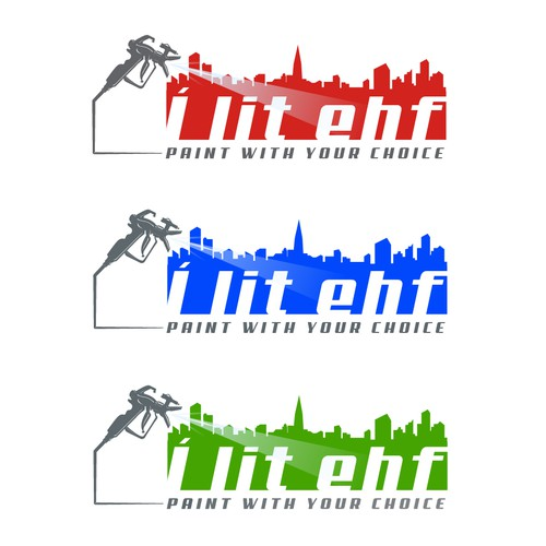Logo for a Painter Company