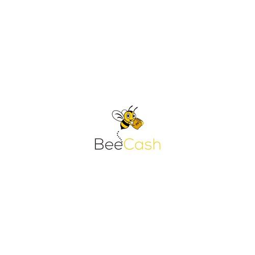 Bee logoconcept