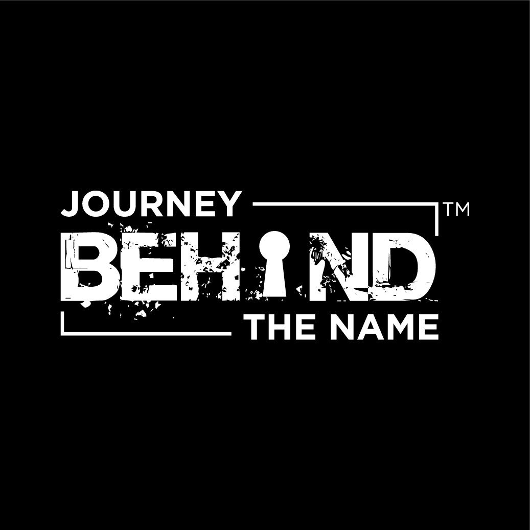 Journey Behind The Name logo design