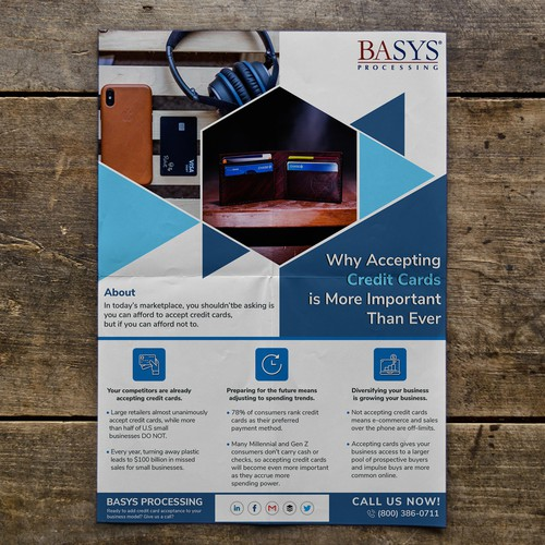 BASYS Processing Business Flyer.