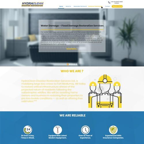 A Light Website.