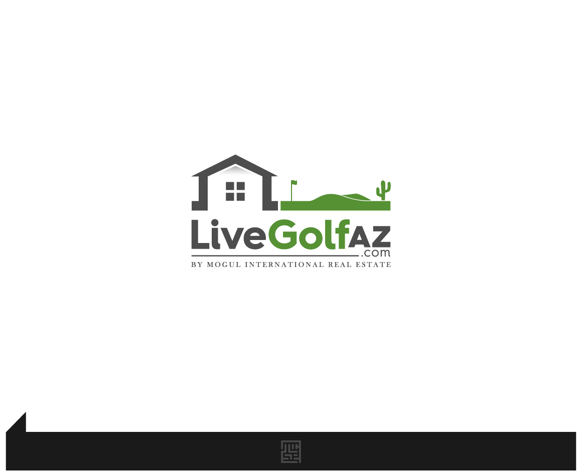 Create a Golf Themed Real Estate Logo