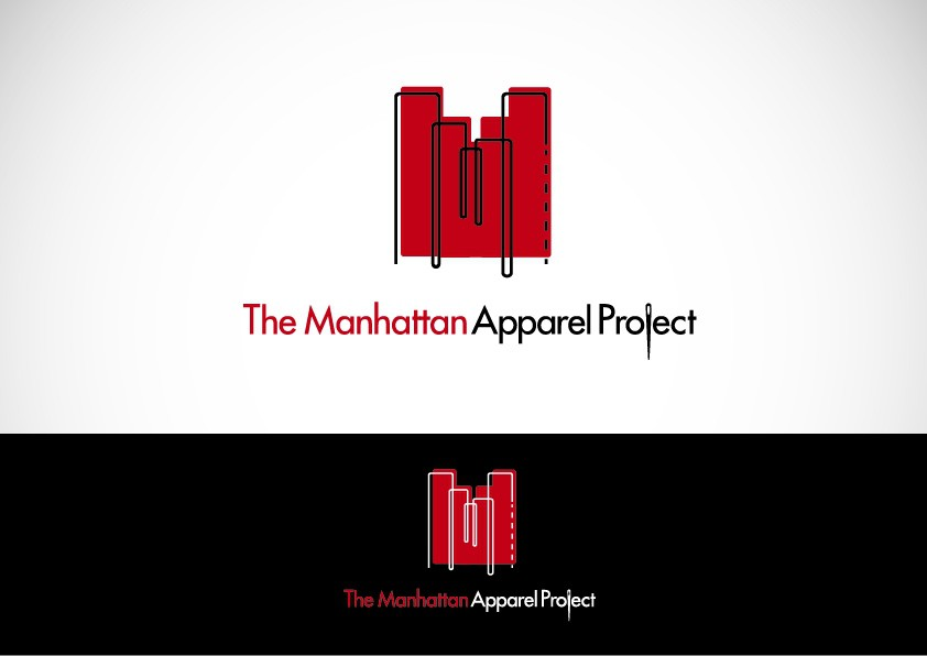 Create the next logo for The Manhattan Apparel Project