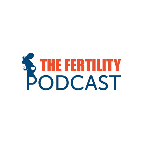 create an engaging contemporary logo for a fertility podcast appealing to men and women