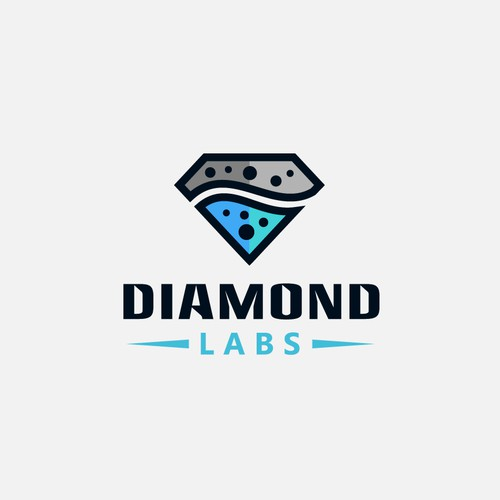 Logo for Diamond Labs.